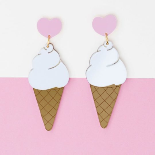 Boucles sweet ice cream
