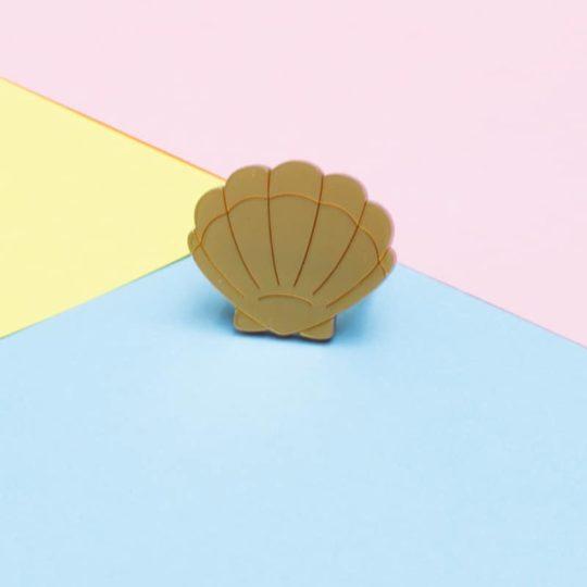 Bague Shell Dorée