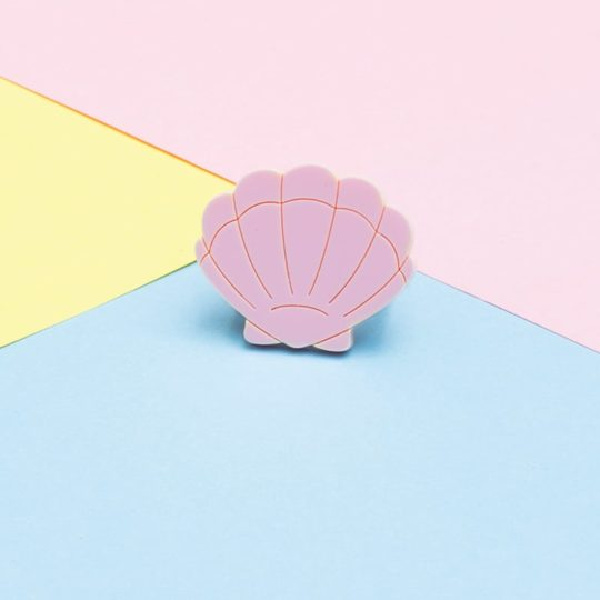 Bague Shell Rose