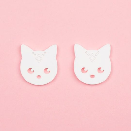 Boucles-Stud-Gipsy-Cat-blanc