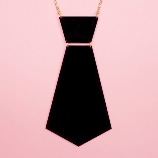 Collier-Cravate-Gipsy-noir