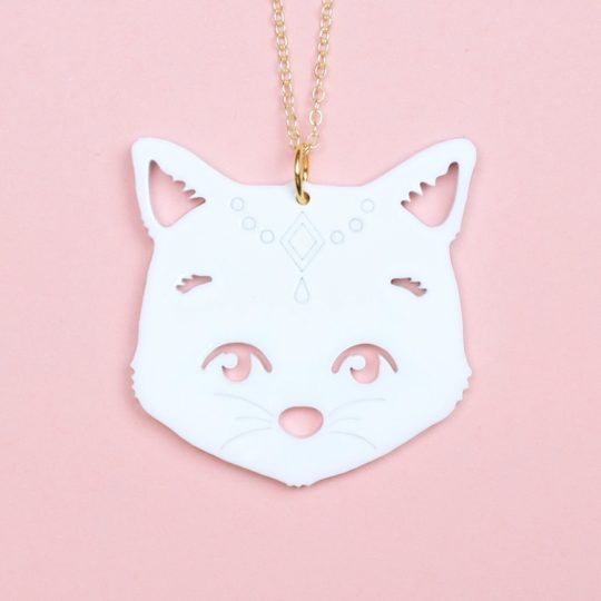 Collier-Gipsy-cat-blanc