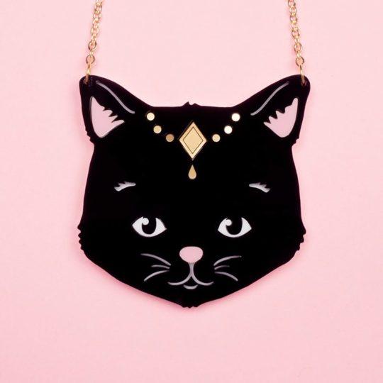 Ras-de-cou-Gipsy-cat-noir