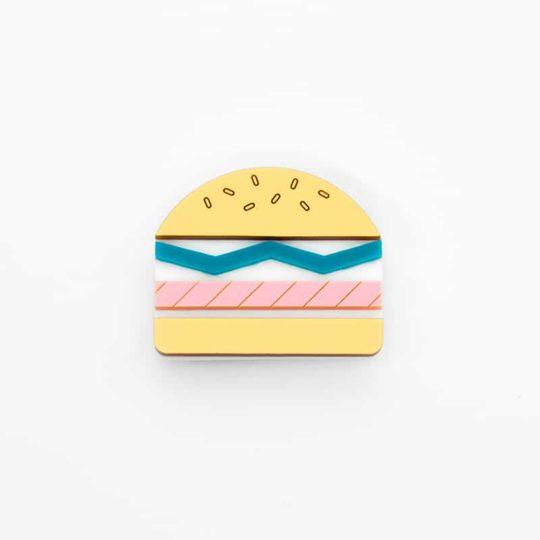 jule_et_lily_broche burger memphis