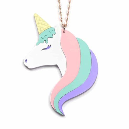 Jule_et_lily_rainbow_Collier Unicornet