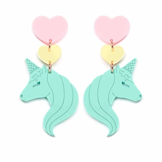 B.O sweet unicornet Mint Yellow Pink