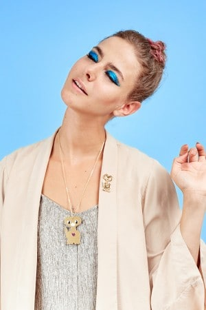 Collier et pin's Extra T juleetlily cosmic