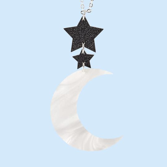 Collier moon juleetlily cosmic