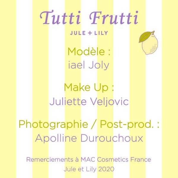 Crédits-Tutti-Frutti